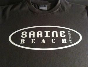 T-Shirt Sarine Beach Fribourg